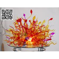 Buy cheap Multi colour handblown glass table lamps from wholesalers