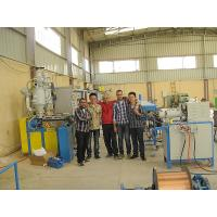 Buy cheap Blue Cable Making Wire Extrusion Machine High Speed 65KW 6000kgs ABB Motor from wholesalers