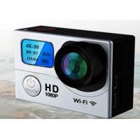 Buy cheap H.264 MOV Waterproof Sports Video Camera 4K G3 2 Display 2'' LCD 0.95 Inch 170 Angle from wholesalers