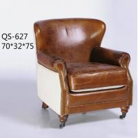Wholesale QS-627;  modern genuine leather sofa, modern home furniture,office furniture, living room furniture, China sofa from china suppliers