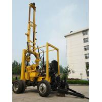 Wholesale 300m Trailer Mounted borehole Drilling equipment 300mm Dia 600m Drilling Depth from china suppliers