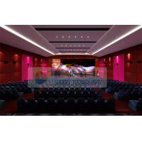 Wholesale Luxury Large 4D Theater System With Motion chair / Special Effect System from china suppliers