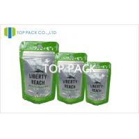 Wholesale Gloss Top Zipper Standup Snack Packaging Front Transparant Window from china suppliers