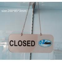 Wholesale Transparent Acrylic Photo Frames Non-toxicity with a metal chain from china suppliers