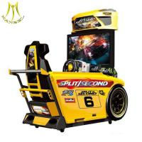 Wholesale Hansel Best selling Travel around the world Car Kart Simulator Racing arcade video game machine from china suppliers