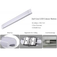 Wholesale CE Two Gen Linear LED Batten Light With 90-130lm/W Efficiency , 3 Year Warranty from china suppliers