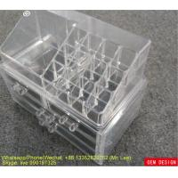 Wholesale Clear Acrylic Makeup Storage PS Makeup Organizer With Nice Packing from china suppliers