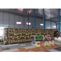 Wholesale 0.55mm PVC Material Inflatable Large Maze Inflatable Paintball Playground from china suppliers