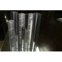 Wholesale galvanised Metal Mesh Tubing , thin welded perforated metal Tube 0.5mm from china suppliers