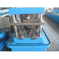 Wholesale 3.0mm Material Thickness 1.5 inch Chain Rolling Shutter Door Sliding Rail Forming Machine With PLC Control from china suppliers