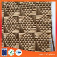 Buy cheap natural straw woven kraft paper material textile supplier from China from wholesalers