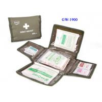 Wholesale Nylon bag first aid box contents hand - carry easy to take for untrained people from china suppliers