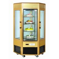 Wholesale 6 Door Food Showcase Refrigerator Rotating Countertop Display For Confectionery from china suppliers