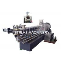 Buy cheap Double Screw Plastic Compounding Machine For Making PET Bottle Pellets from wholesalers