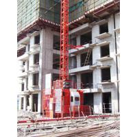 Wholesale 1050kg Loading Safety Construction Hoist Elevator 18.5×2kw , Material Hoist from china suppliers