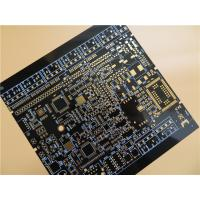 Wholesale Black PCB Built On FR-4 With Immersion Gold and 6 Layer Copper from china suppliers