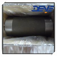 Wholesale Black Steel Nipple  STD SCH40 SCH80 NPT from china suppliers