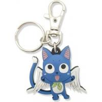 Quality high quality cheap price custom logo soft pvc personalized fairy tail happy keychains for sale