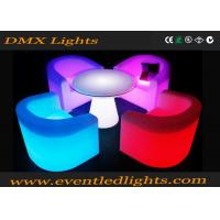 Wholesale Patio Wedding Event Party Led Light Up Sofa Furniture Luxury Design Sofa Sets from china suppliers