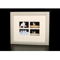 "Wholesale 4 – Multi Openings 4""x6"" Collages Photo Frame In Rural Bushed White Color from china suppliers"