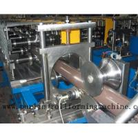 Wholesale Copper Portable Downspout Roll Forming Machine , Steel Roof Gutter Making Machine from china suppliers