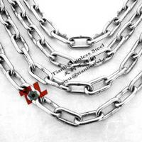 Wholesale 4mm DIN763 Weled Round Stainless Steel Link Chain 304 A2 1.4301 316 A4 1.4401 from china suppliers