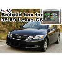 Wholesale Lexus GS300 GS430 2005-2009 Car Navigation Box , mirror link video interface rear view from china suppliers