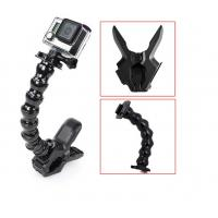 Wholesale Sport SJCAM Gopro Camera Mounts 18cm Gooseneck Jaws Clamp Holder from china suppliers