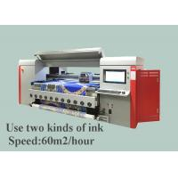 Wholesale 1800mm Digital Cotton Fabric Printing Machine 4 pico litter ink drop size from china suppliers