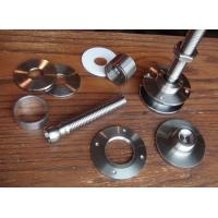 Wholesale Small Automotive Stamping Parts , Notching Louvering Precision Metal Components from china suppliers