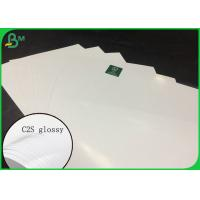 China FSC Certified Couche Paper C2s Glossy Coated Art Board 135g TO 350g on sale
