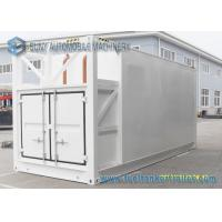 Wholesale Mobile stainless steel tanker trailers Diesel / Gasoline 27000L 20 Feet Container from china suppliers