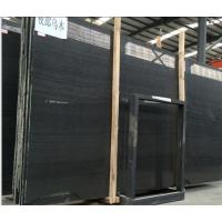 Wholesale Popular Black Marble Chinese Timber Black Marble Black Wood Marble Slab,Marble Tile On Selling from china suppliers