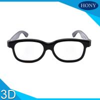 Wholesale Movie Circular Polarized 3D Glasses / Cinema Use 3d glasses circular polarized from china suppliers