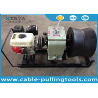 Wholesale 3 Ton Cable Drum Pulling Winch Machine With Petrol Engine Power from china suppliers