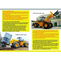 Quality granite machinery forklift loader, mermer machinery for sale
