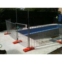 Wholesale Steel Swimming Pool Fence with Black Color, temporary steel fence panels for pools from china suppliers
