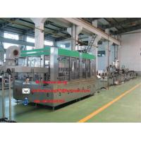 Wholesale Automatic hot fruit juice filling line/filling machine/filling equipment(3-in-1) from china suppliers