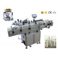350ml economy automatic with collection worktable  round bottle labeling machine penicillin bottle