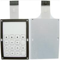 Wholesale PET Push Button Dispenser PCB Membrane Switch With Aluminum Substrate from china suppliers