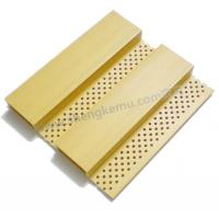 Wholesale 137 acoustic board wood plastic composite material waterproof board from china suppliers
