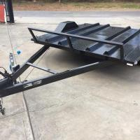 Wholesale 8x6 Motor Bike Motorcycle Utility Trailer , Easy Load Tandem Axle Utility Trailer from china suppliers