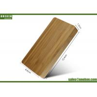 Wholesale Dual Port Wood Power Bank 3600mAh 2A USB Connected 108g With LED Lights from china suppliers