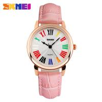 Wholesale Pink Luxury Urban Fashion Womens Quartz Watches With Logo Printed from china suppliers
