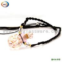 Wholesale Pink Perfume bottle necklace glass from china suppliers