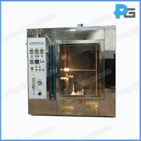 Wholesale UL94 Horizontal and Vertical Flame Test Apparatus Flammability test chamber from china suppliers