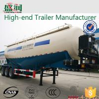 SHENGRUN 70 Ton Bulk Cement Powder Transport Semi Trailer With FUWA Axle