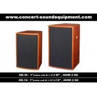 "Wholesale 400W Nightclub Sound System 1""+12"" Full Range Speaker For Pub , Karaoke , Conference from china suppliers"