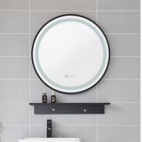Wholesale Vintage design hotel bathroom LED lighted with magnification makeup mirror from china suppliers