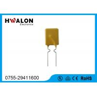 Wholesale 7.4mm PPTC Thermistor , PPTC resistor Resettable thermal fuse camera power supply from china suppliers